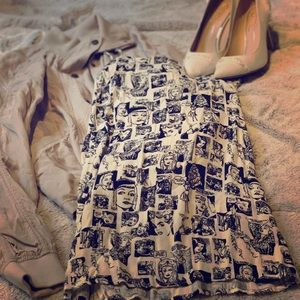 REFORMATION Comic Mini Dress